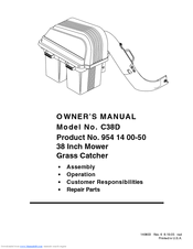 Electrolux 954 14 00-50 Owner's Manual
