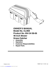 Electrolux 156239 Owner's Manual