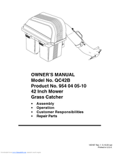 Electrolux QC42B Owner's Manual
