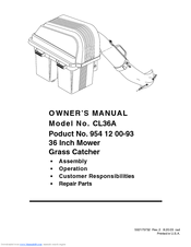 Electrolux 954 12 00-93 Owner's Manual