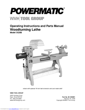 Powermatic 3520B Operating Instructions And Parts Manual