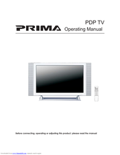 prima pdp tv manuals rh manualslib com Skyrim Prima Guide Prima Guides FF7