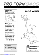 proform 940s manual product user guide instruction u2022 rh testdpc co The Guide to EKG Interpretation 12 Lead EKG Guide