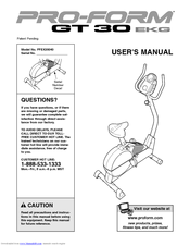proform gt 30 ekg manuals rh manualslib com EKG Guide Book proform 760 ekg user manual