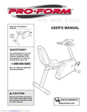 proform vr 900 ekg manuals rh manualslib com Proform EKG Treadmill Proform EKG Treadmill