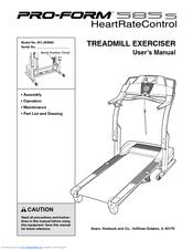 proform 585s treadmill manuals rh manualslib com proform pro 2000 manual proform manuals online