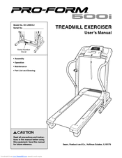 proform 500i treadmill manuals rh manualslib com proform manuals online pro forma manual instructions