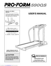 Proform 590qs Manuals Manualslib