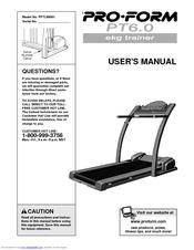 proform ekg trainer pt6 0 manuals rh manualslib com proform 760 ekg user manual Proform 760 EKG Treadmill
