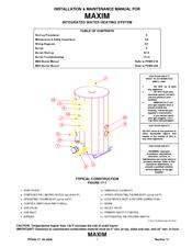 pvi maxim integrated water heating system manuals rh manualslib com PVI Haddonfield NJ High School Pvis School