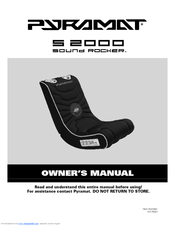Pyramat Sound Rocker S 2000 Owner's Manual