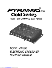 pyramid cr 79g manuals rh manualslib com Pyramid Power Supply Website Pyramid Audio Equipment