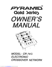 Pyramid CR-74G Owner's Manual