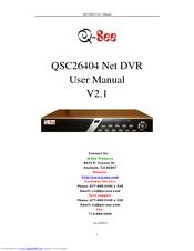 q see qsc26404 manuals rh manualslib com Q-See Qc448-811-5 Q-See 960H Camera