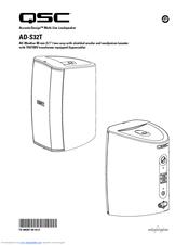 qsc acousticdesign ad s32t manuals rh manualslib com