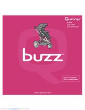 Quinny Buzz 01638 Manuals