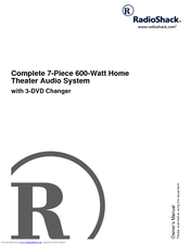 RCA 3-DVD Changer Owner's Manual