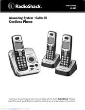 radio shack 43 327 manuals rh manualslib com