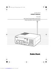 RADIO SHACK PRO-2040 OWNER'S MANUAL Pdf Download