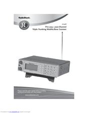 Radio Shack PRO-2051 User Manual