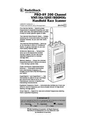 RADIO SHACK PRO-89 OWNER'S MANUAL Pdf Download
