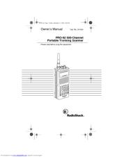 RADIO SHACK PRO-92 OWNER'S MANUAL Pdf Download