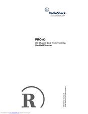 radio shack 20 523 manuals rh manualslib com  radio shack pro 93 manual