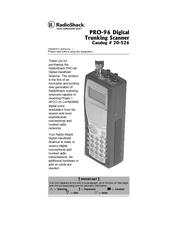 radio shack pro 96 manuals  radio shack pro-38 manual