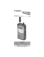 RADIO SHACK PRO-99 OWNER'S MANUAL Pdf Download