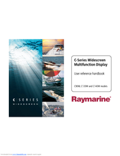 Raymarine C120W Manuals