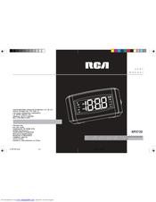 rca dual alarm clock rp3720 rp3720 user manual pdf download rh manualslib com