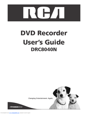 RCA DRC8040N User Manual