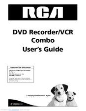 RCA DRC8310N User Manual