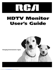 rca d52w20 52 theaterwide hdtv ready tv manuals rh manualslib com RCA Television Owner Manual RCA Clock Radio Manual