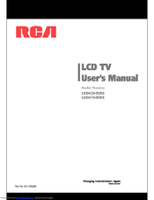 RCA LED47A55RS User Manual