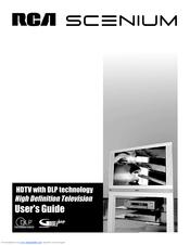 rca scenium hdlp61w151 manuals rh manualslib com RCA Scenium HDTV Manual RCA Scenium Blinks 5 Times