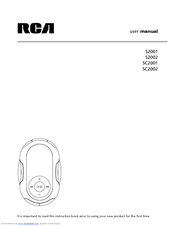 rca s2001 user manual pdf download Windows XP Recovery