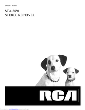 RCA STA-3850 Owner's Manual