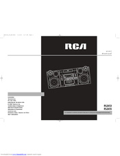 RCA RS2653 User Manual
