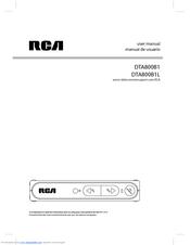 rca dta800b1l manuals rh manualslib com Old RCA Manuals RCA Clock Radio Manual