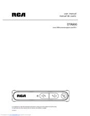 rca dta800 manuals rh manualslib com RCA 5 CD Changer Manual RCA 5 Disc Player Manual