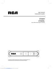 rca dta809 manuals rh manualslib com RCA 5 CD Changer Manual RCA Clock Radio Manual