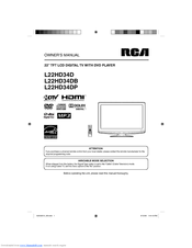 rca led32b30rqd owners manual