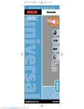 rca rcu404 rcu 404 universal remote control manuals rh manualslib com manual de control remoto universal rca rcu404 en español manual de control remoto universal rca rcu404 en español