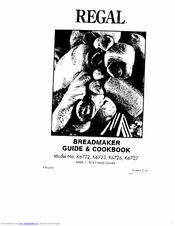 regal k6726 manuals rh manualslib com Regal Bread Maker Manual Regal Bread Maker Manual