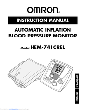 Omron ReliOn HEM-741CREL Instruction Manual