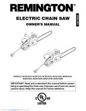 remington m12510us m15012us m15014us manuals rh manualslib com remington chain saw manuels remington chainsaw manuals electric ld3616aws