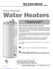 140596_ge_series_product  Gallon Electric Water Heater Wiring Diagram on