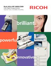 Ricoh aficio mp c300sr