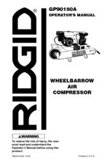 RIDGID GP90150A Operator's Manual